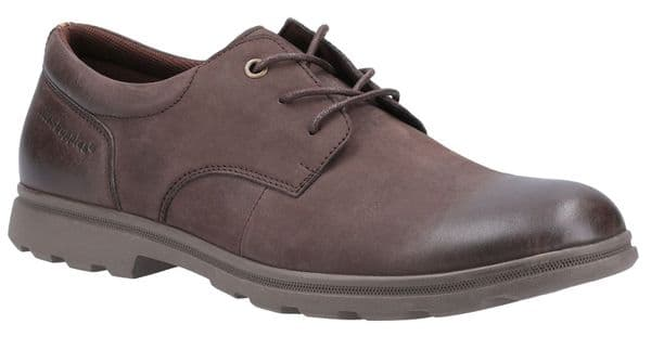 Hush Puppies Trevor Lace Mens Shoes Brown